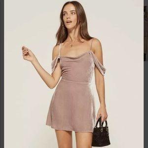 Reformation Pink Lorraine Dress